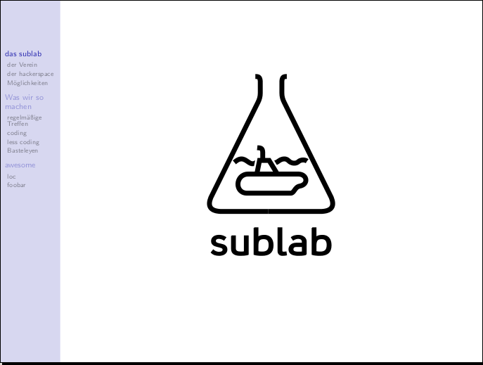sublab Presi Ubucon